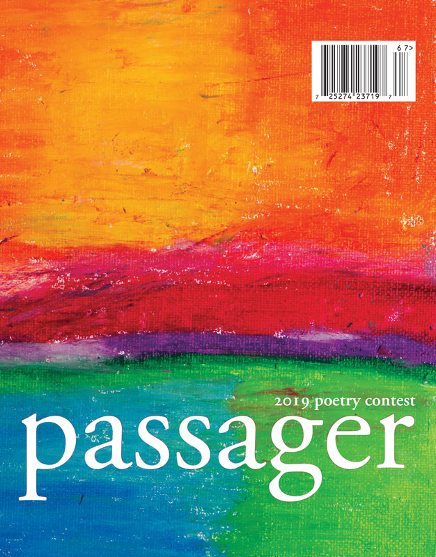 2019 Passager Poetry Contest Issue 67 cover