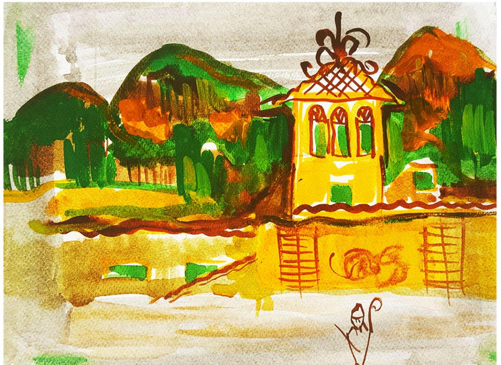 Bergamo painting
