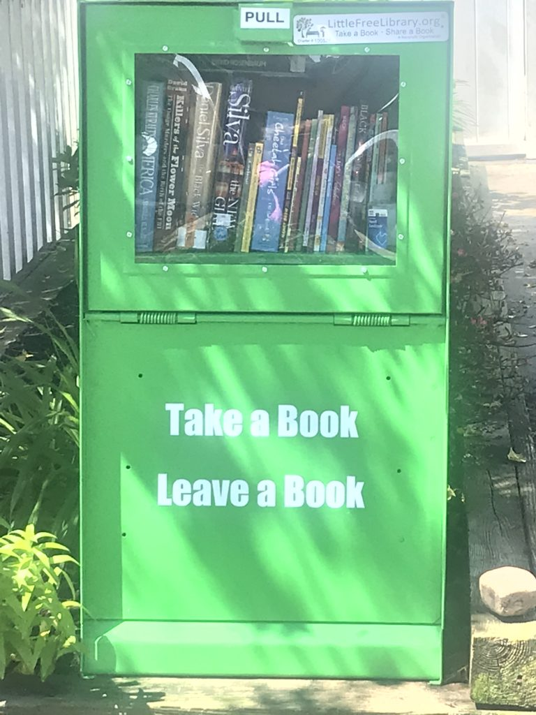 photo of a Little Library