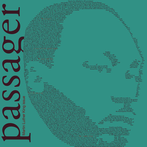 Martin Luther King Jr. Issue cover