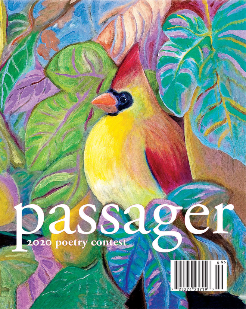 2020 Passager Poetry Contest Cover