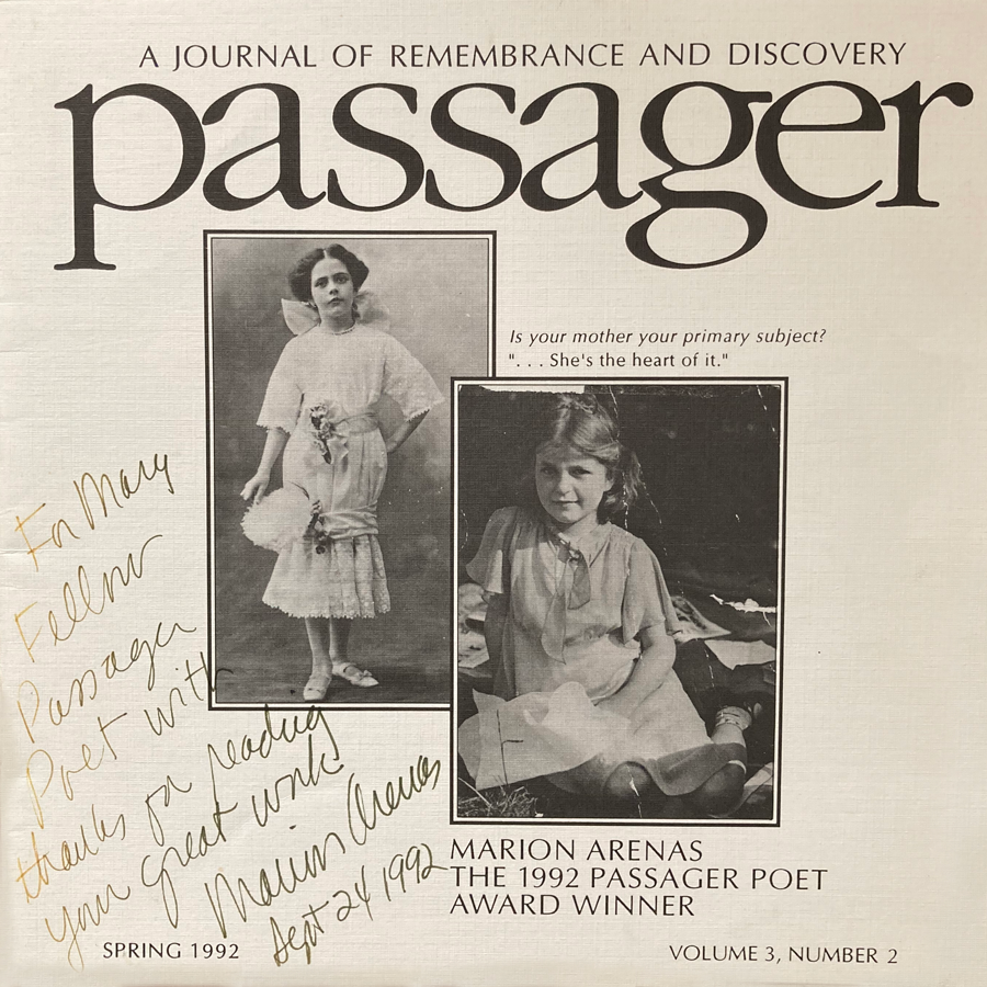 1992 Poetry Contest Issue cover