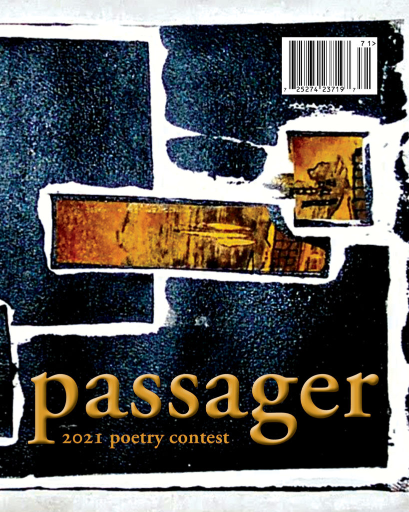2021 Passager Poetry Contest cover